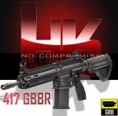 HK417 GBBR AIRSOFT TUFEK - Thumbnail