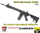 Airsoft Hazır Oyuncu Paketi - KingArms Black (Siyah) - Uzun Mamlu / DMR - Thumbnail