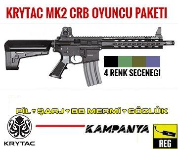 AIRSOFT OYUNCU PAKETI KRYTAC MK2 CRB
