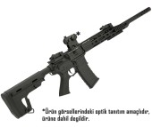 APS ASR110 DMR M4 Airsoft AEG RS-1 Stock - Thumbnail