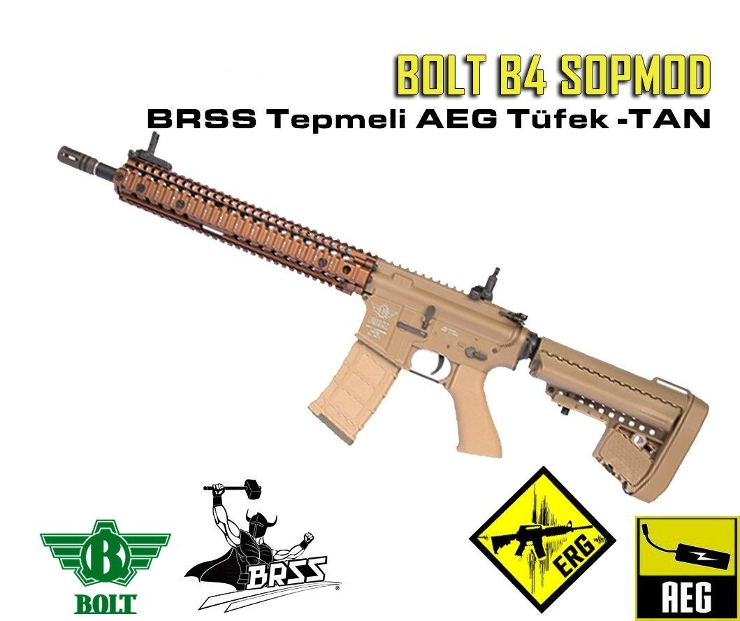 BOLT B4 SOPMOD BRSS Güçlendirilmiş Tepme Sistemli AEG