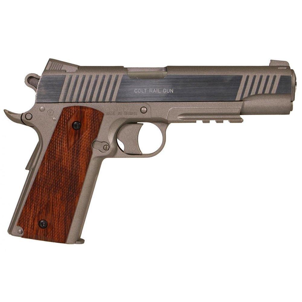 CYBERGUN Colt 1911 Rail Gun Gümüş Airsoft Tabanca