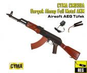 CYMA CM036A Gerçek Ahşap Full Metal AKM SET - Thumbnail