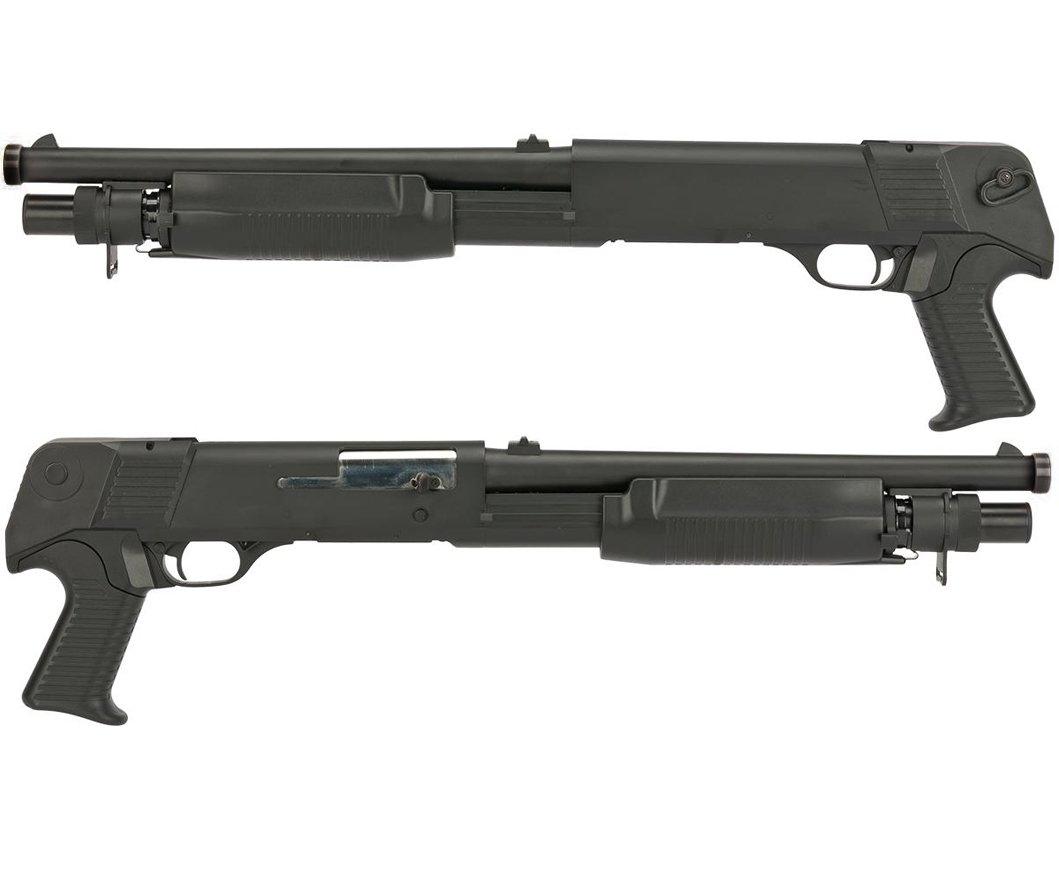 CYMA M3 Multi-Shot Airsoft Shotgun Pompalı - 3Lü atış yapar