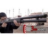 CYMA M3 Multi-Shot Airsoft Shotgun Pompalı - 3Lü atış yapar - Thumbnail
