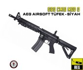 GG CM16 MOD0 AEG AIRSOFT TÜFEK - SİYAH - Thumbnail