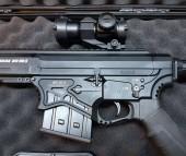 Guntack Tactical Hardcase Orta Boy Tüfek Çantası - Siyah - Thumbnail