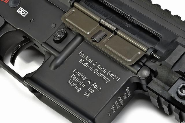HK416D V2 Black AIRSOFT AEG