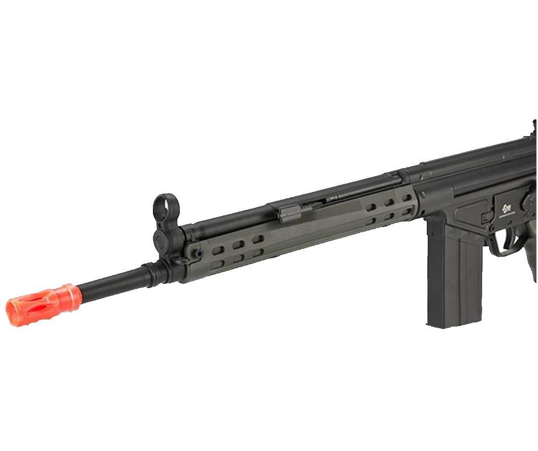 JG T3-K3 Full Size Airsoft AEG Sniper Tüfek - OD Yeşil