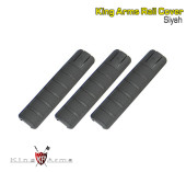 King Arms Ray Koruyucu 3lü SET - Siyah - Thumbnail