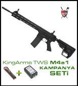 KingArms TWS M4A1 Pil Şarj Hediye Seti 210-BK - Thumbnail
