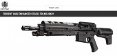 KRYTAC TRIDENT LMG ENHANCE BLACK AEG - Thumbnail