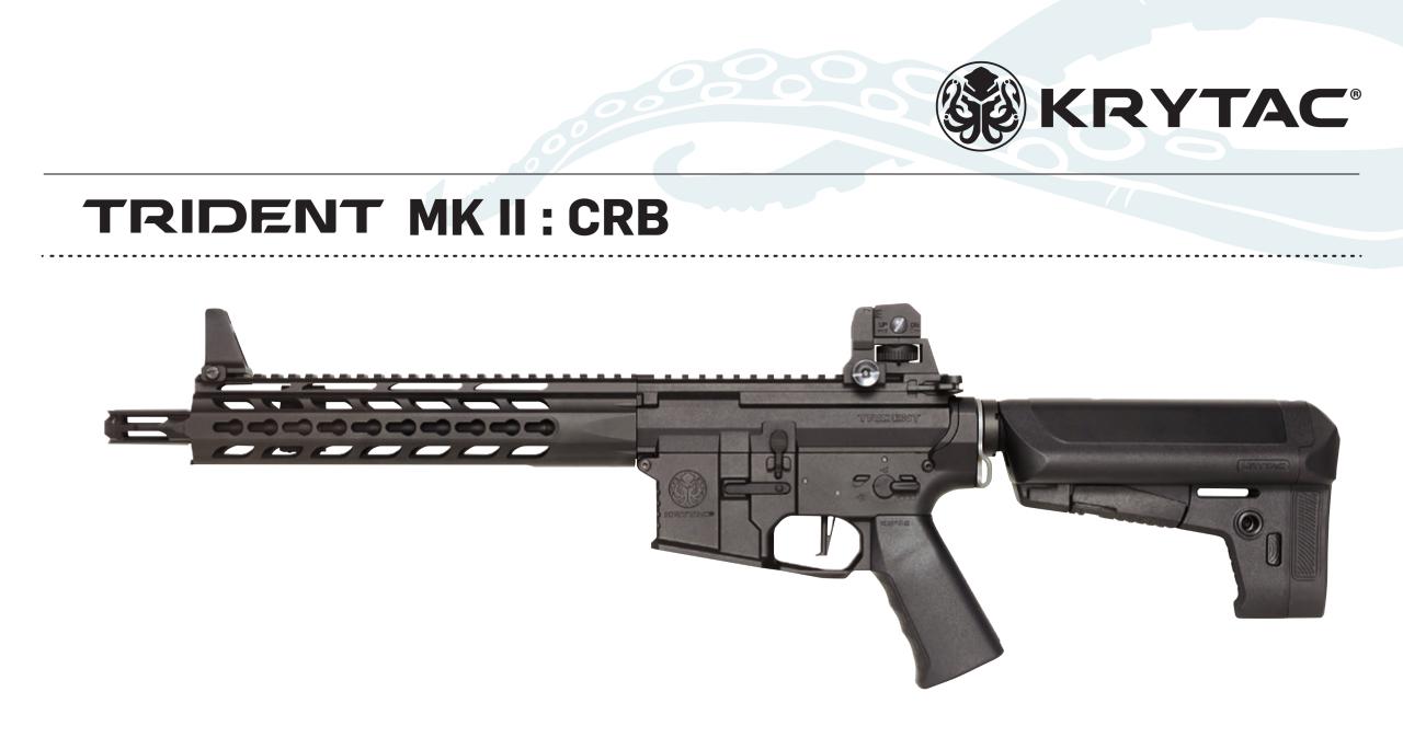KRYTAC Trident MK2 CRB BLACK AEG