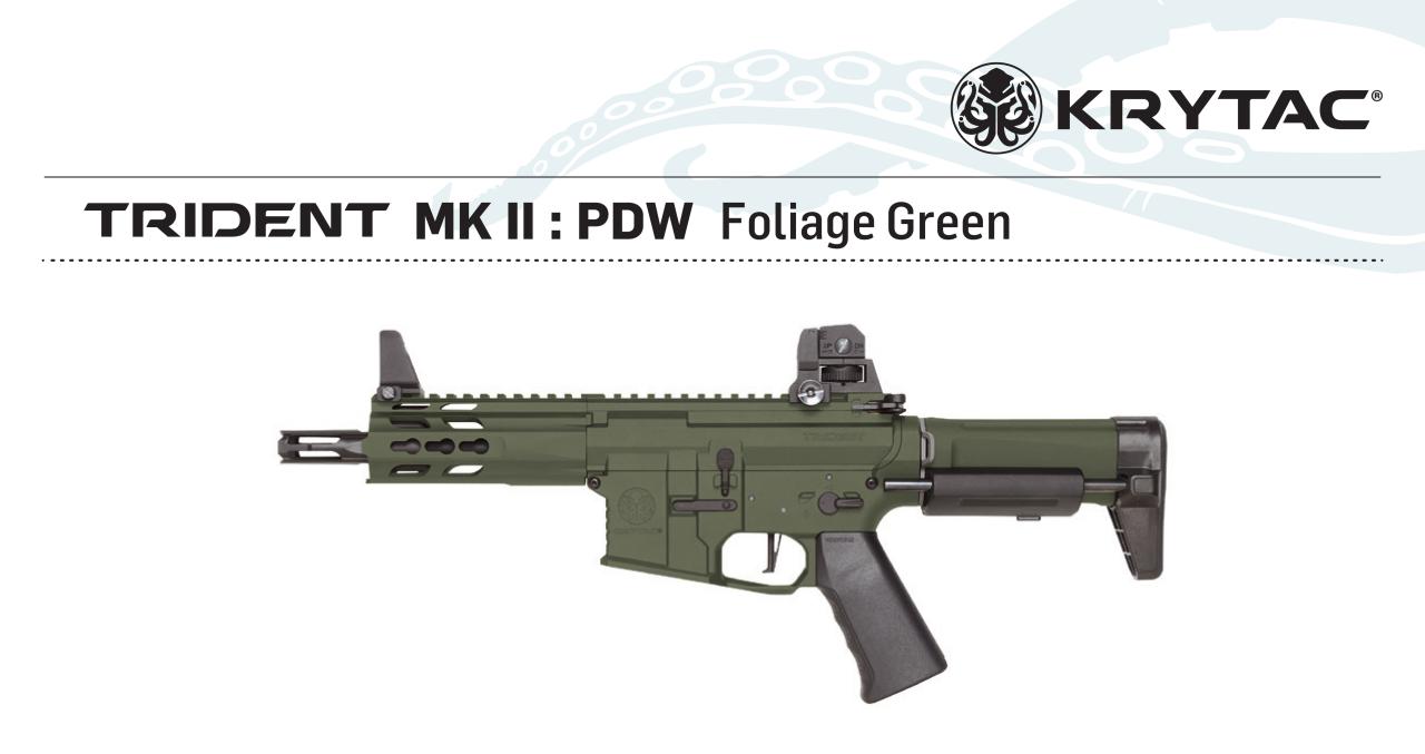 KRYTAC Trident MK2 PDW GREEN