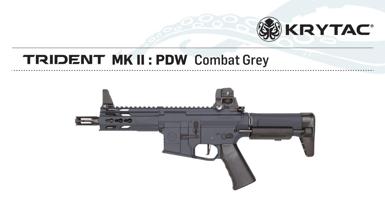 KRYTAC Trident MK2 PDW GREY AEG
