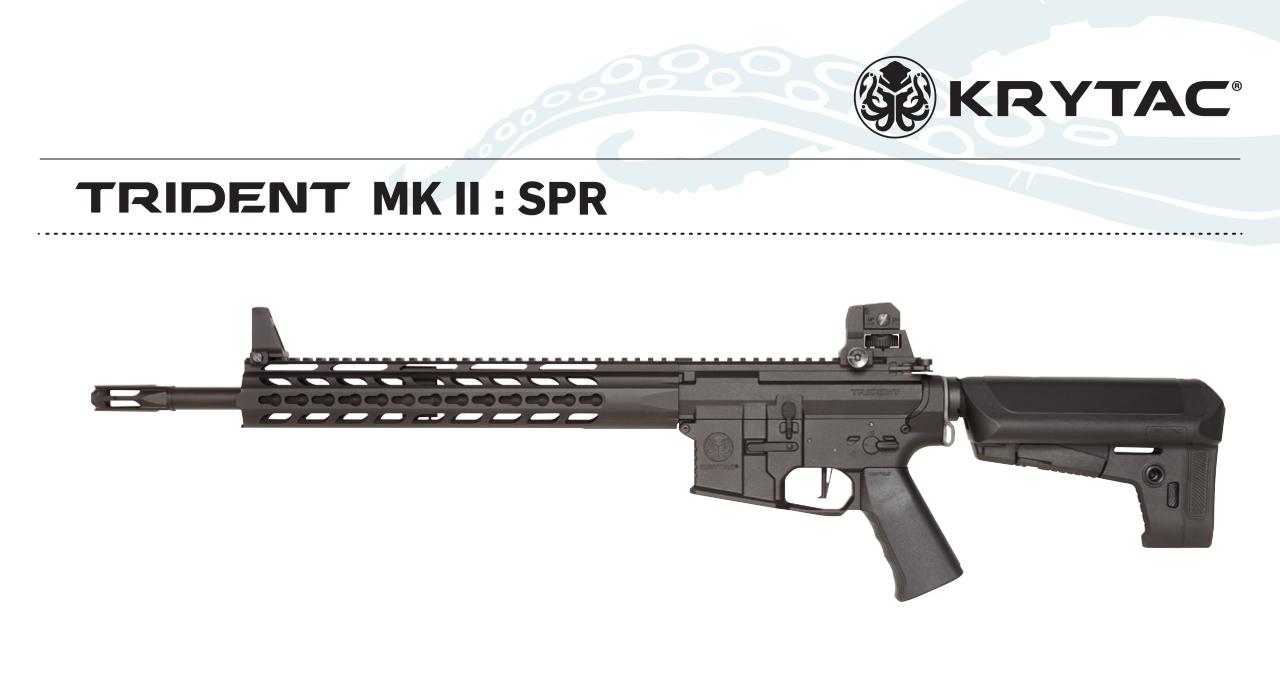 KRYTAC Trident MK2 SPR BLACK AEG