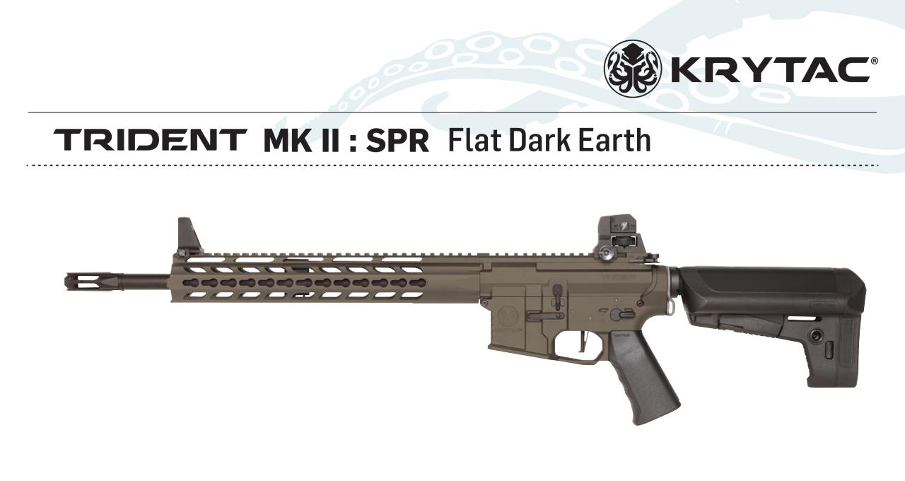 KRYTAC Trident MK2 SPR FDE AEG