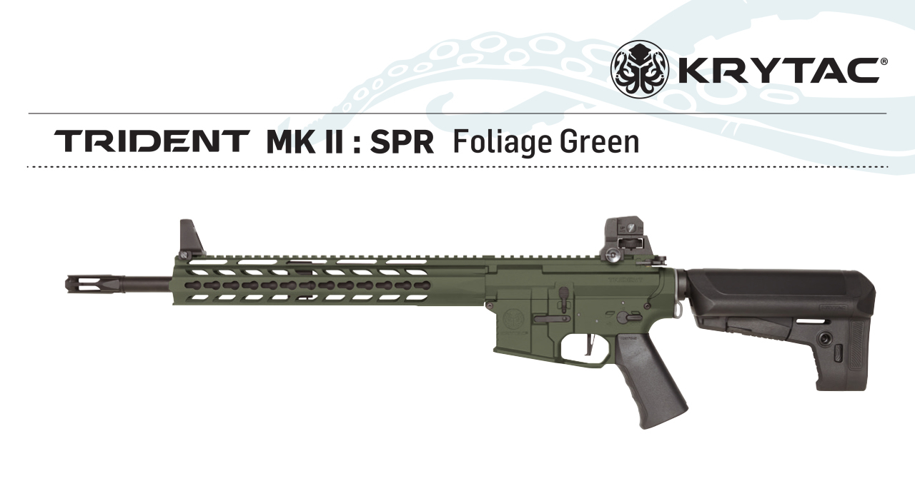KRYTAC Trident MK2 SPR GREEN AEG