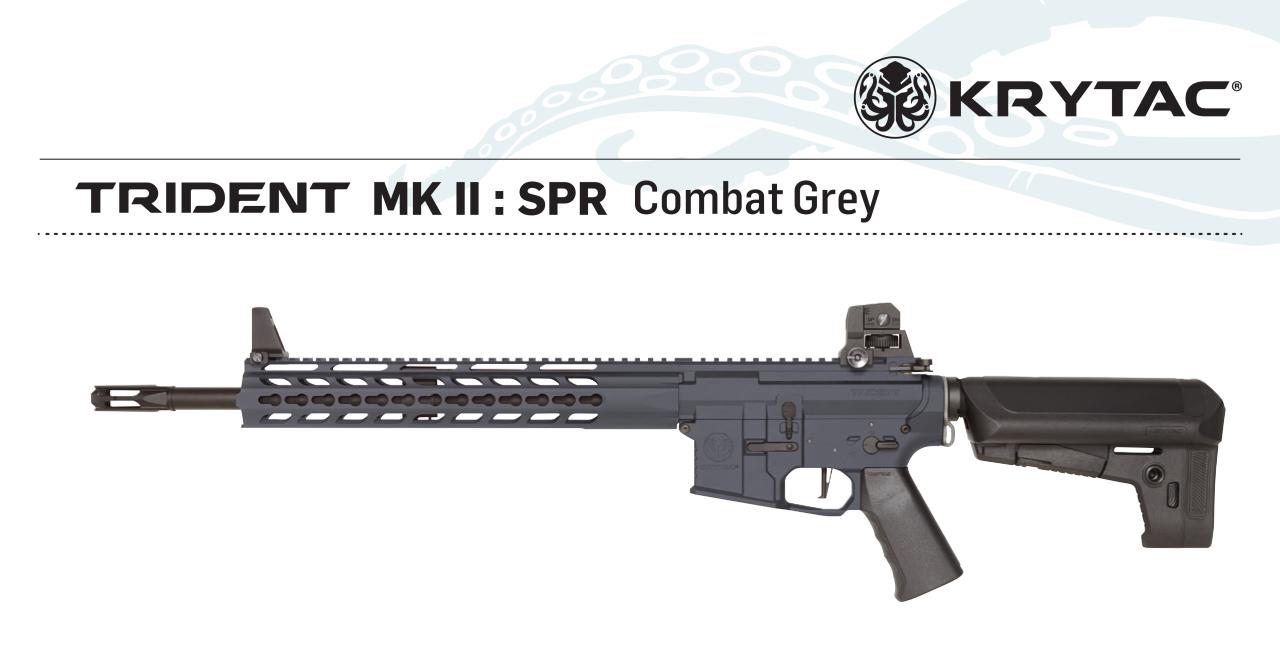 KRYTAC Trident MK2 SPR GREY AEG