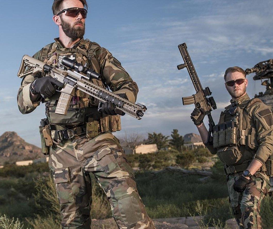 KRYTAC WAR SPORT LVOA-C ASGI EXCLUSIVE AIRSOFT AEG TÜFEK - Çöl Rengi