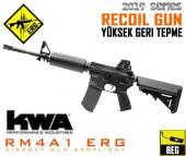 KWA AEG3 RM4A1 ERG Geri Tepmeli Airsoft Tüfek - Thumbnail