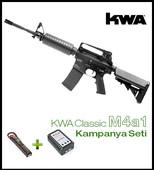 Kwa M4A1 Pil + Şarj KAMPANYA SETI KM4A1 - Thumbnail