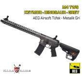 M4 TWS KeyMod Dinosaur - Metalik Gri - Thumbnail