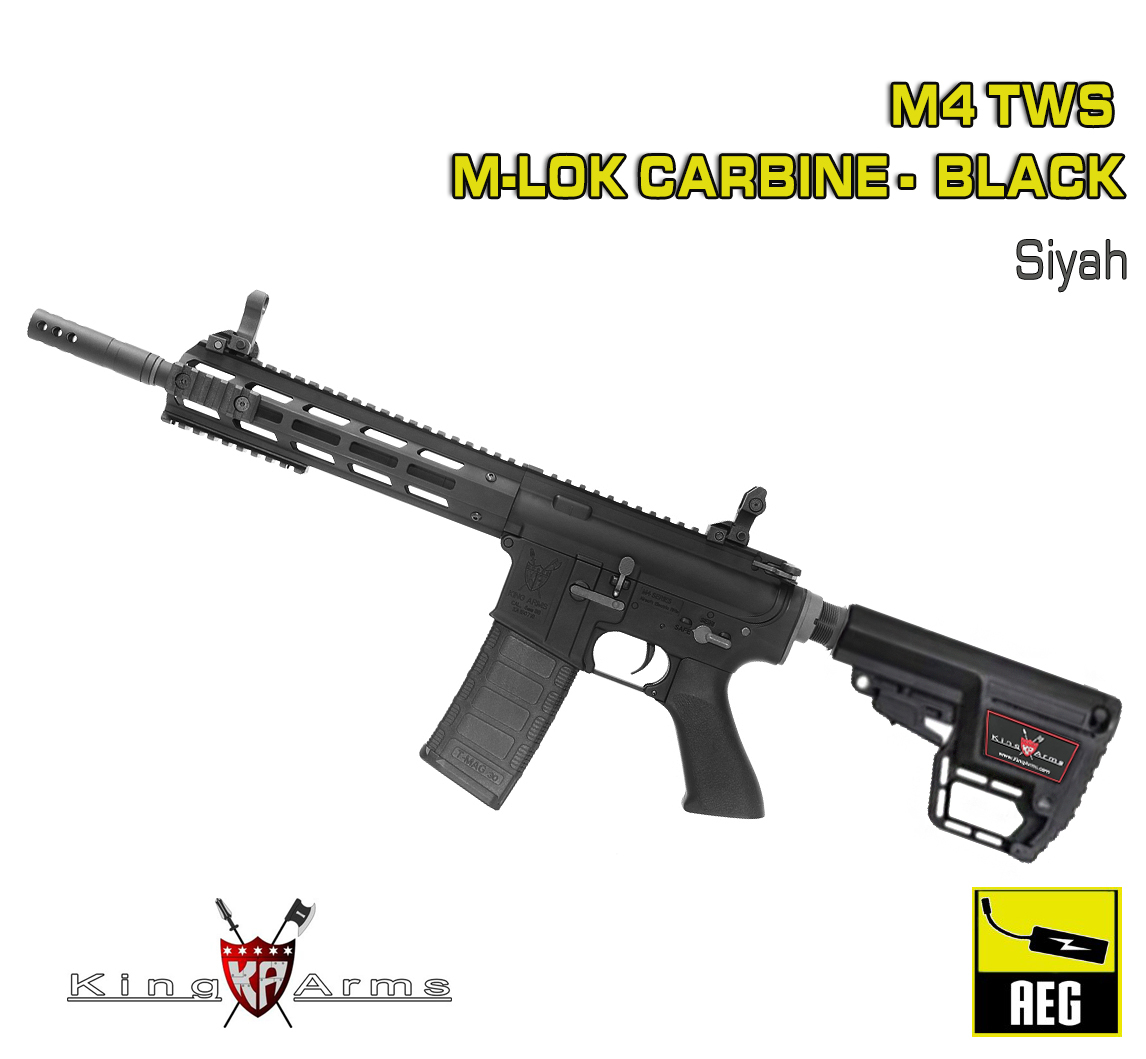 M4 TWS M-LOK Carbine - Siyah