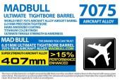 MADBULL ULTIMATE 6.01mm 7075Alüminyum Tight Bore İç Namlu 407mm - Thumbnail