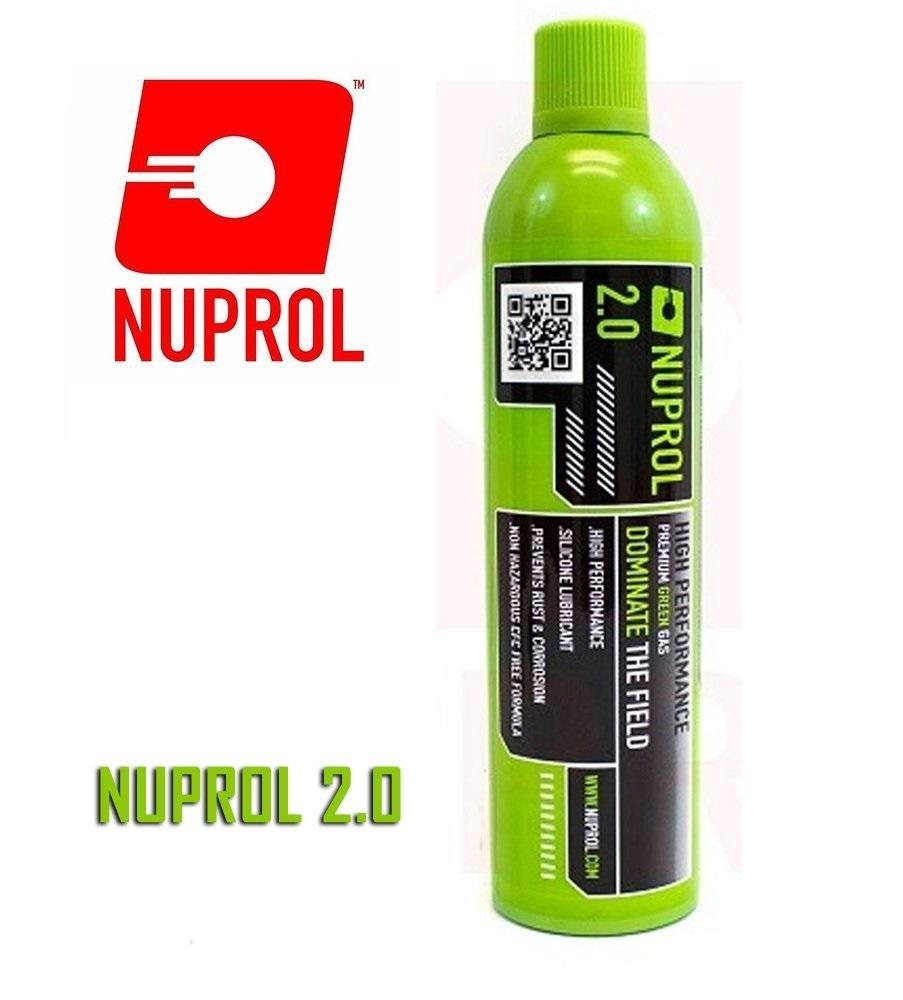 Nuprol 2.0 Airsoft Green Gas (Büyük Boy)