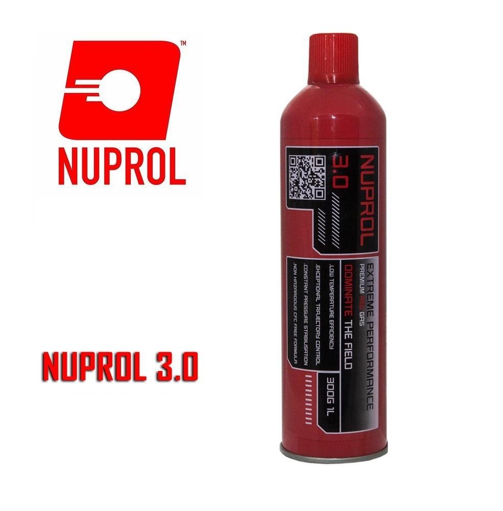 Nuprol 3.0 Airsoft RED Gas (Büyük Boy)