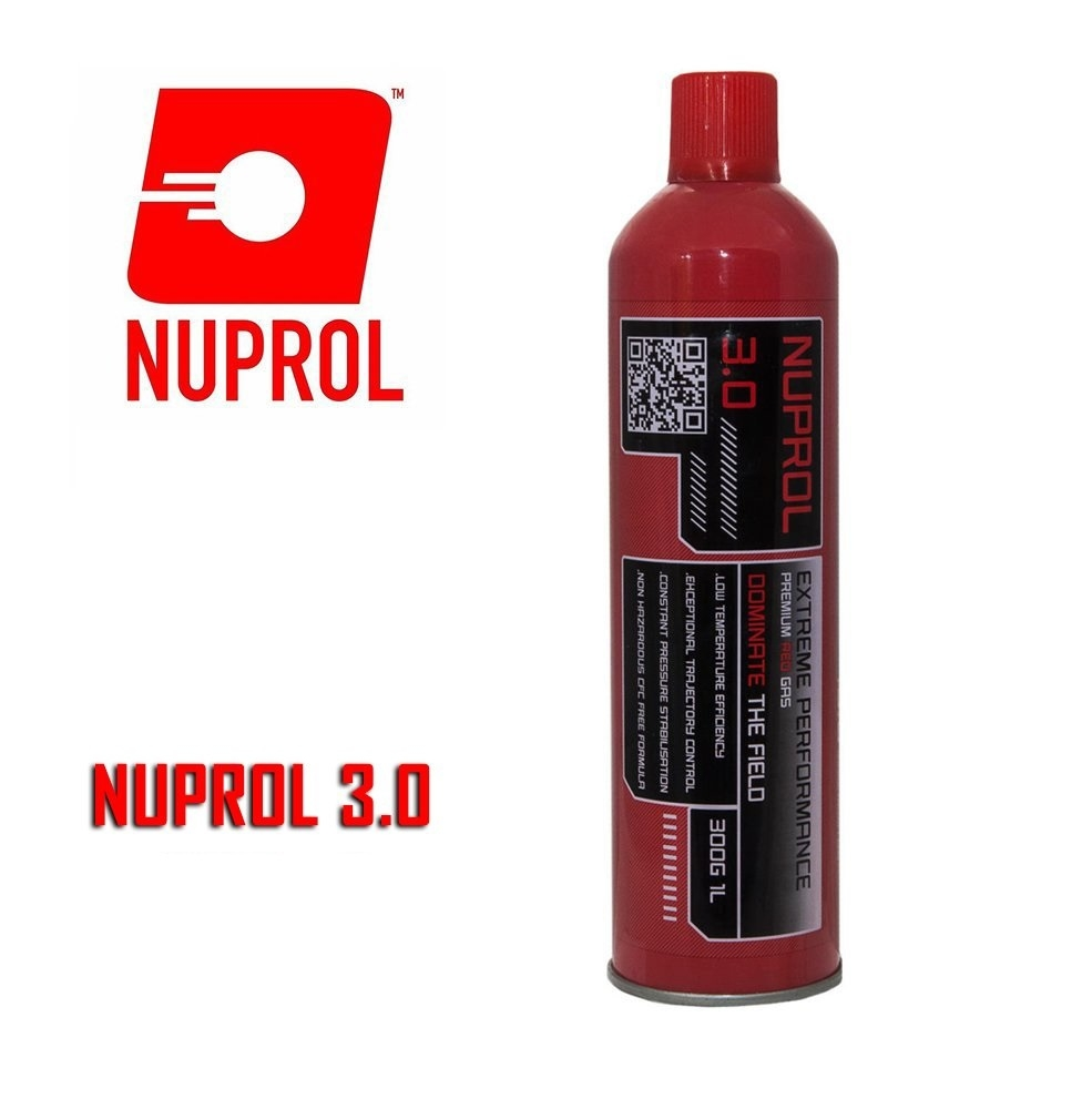 Nuprol 3.0 Airsoft RED Gas (Büyük Boy)