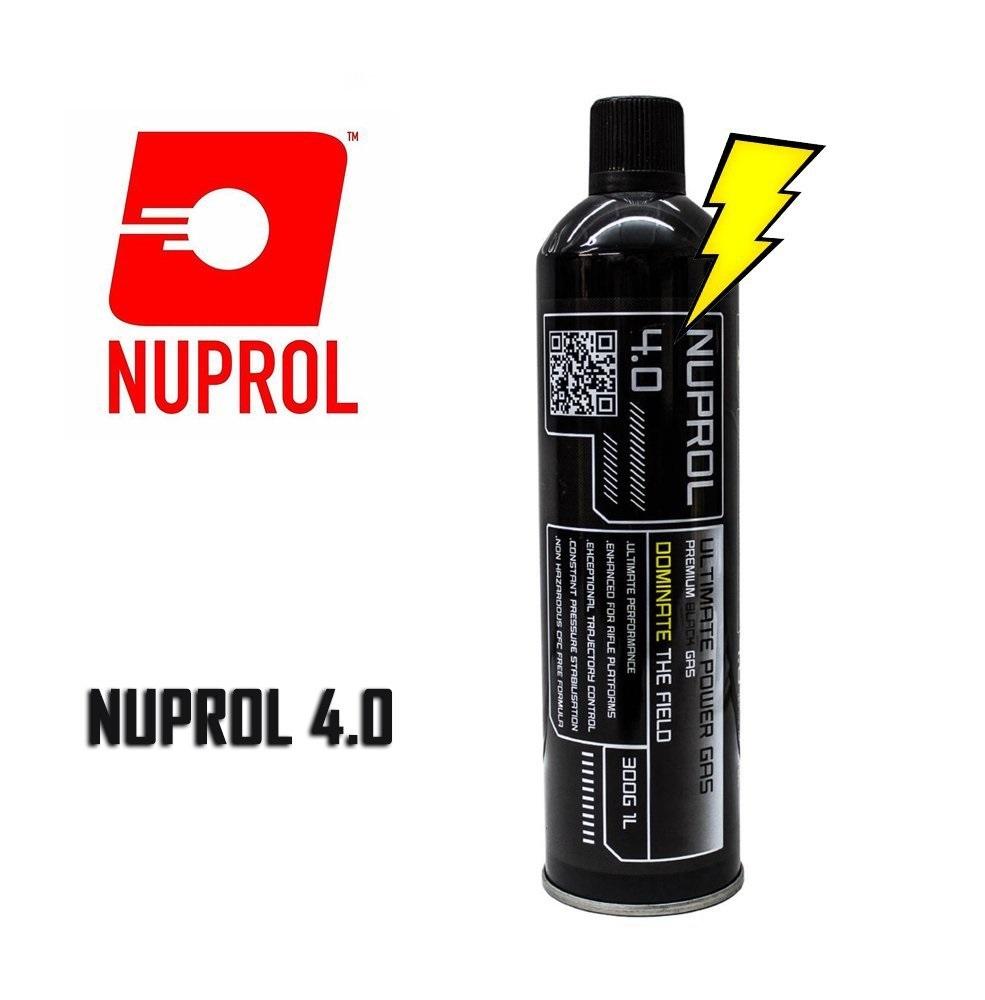 Nuprol 4.0 Airsoft BLACK Gas (Büyük Boy)