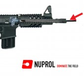 NUPROL Airsoft 455mm (6.03mm) Paslanmaz Çelik Namlu - Thumbnail