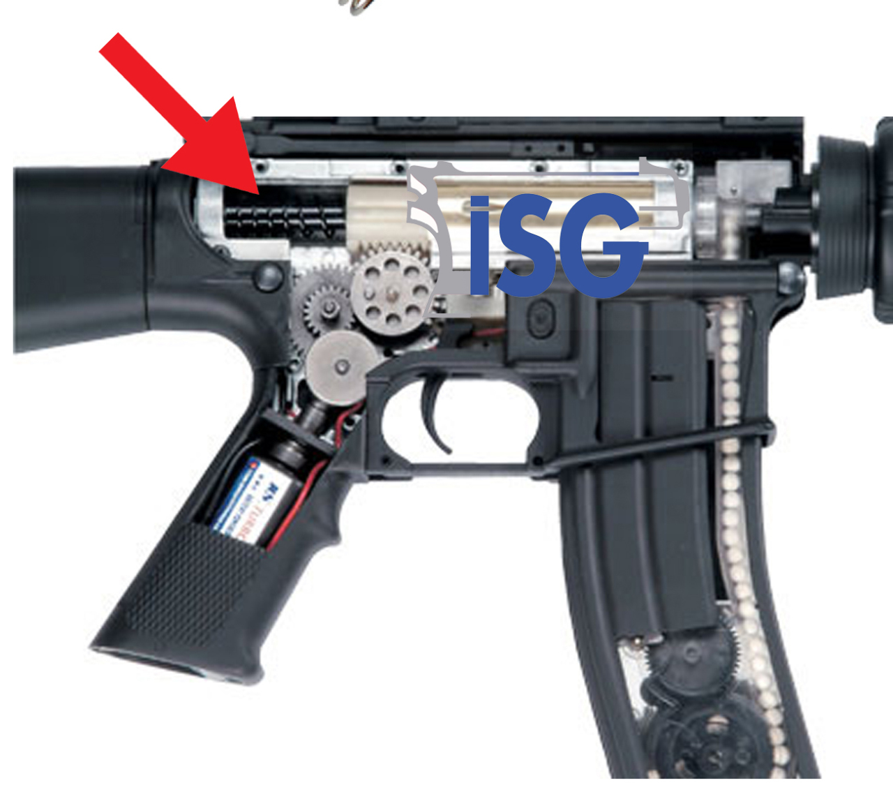 NUPROL M140 SPRING AIRSOFT TÜFEK YAYI