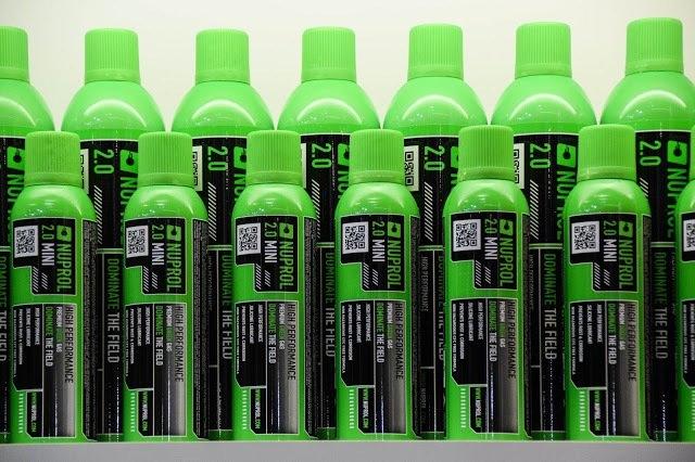 Nuprol MINI 2.0 Airsoft Green Gas (Küçük Boy)