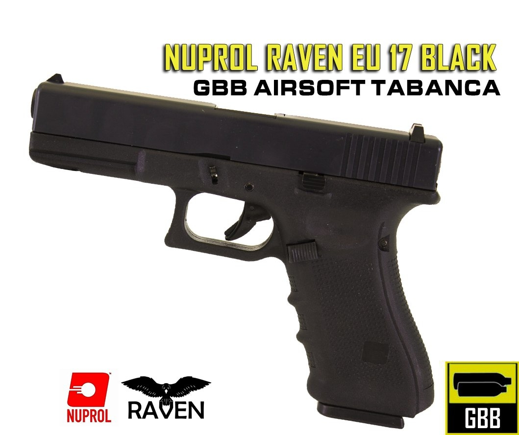 NUPROL RAVEN EU 17 BLACK - Siyah