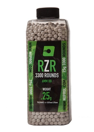 Nuprol RZR 0.25G AirSoft BB