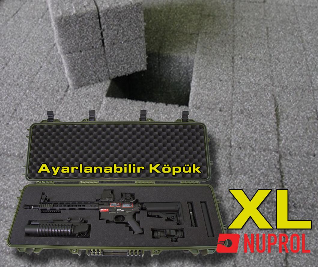 Nuprol XL Tüfek Çantası Hard Case Tan / Desert (Çöl)