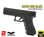 RAVEN - EU Series 18 Tam Otomatik GBB Tabanca - Siyah - Thumbnail
