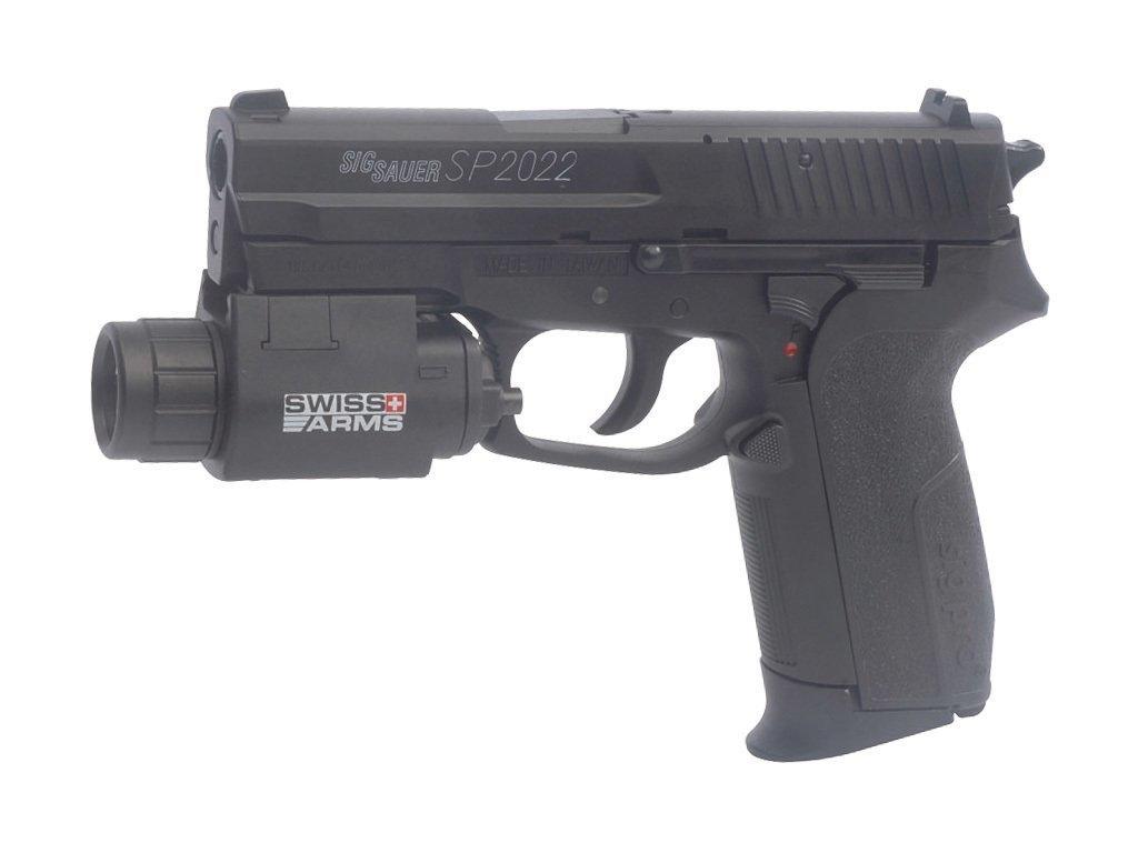 SigSauer SP2022 6mm GBB Metal AIRSOFT CO2 Tabanca