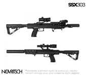 SSX303 Sessiz Gazlı Airsoft Tüfek - Thumbnail