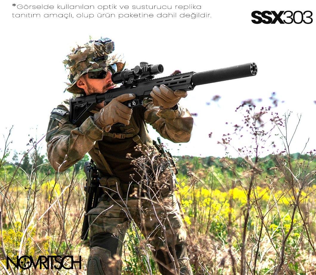 SSX303 Sessiz Gazlı Airsoft Tüfek