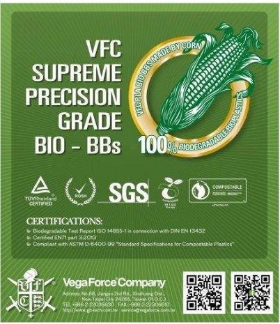 VFC 0.20 Gram AIRSOFT BIO BB 5000Adet