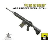 VFC HK 417 GRS 16 inç AEG Airsoft Tüfek - Siyah - Thumbnail