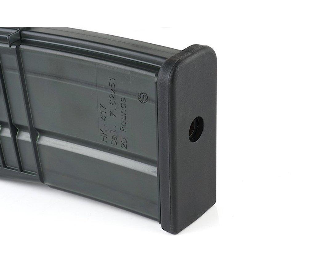 VFC HK417 GBB Magazine - 20BB - Siyah
