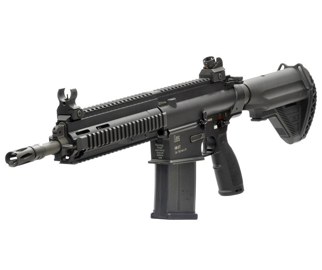 VFC HK417 Gen.2 13'' Assault GBB Airsoft Tüfek - Siyah