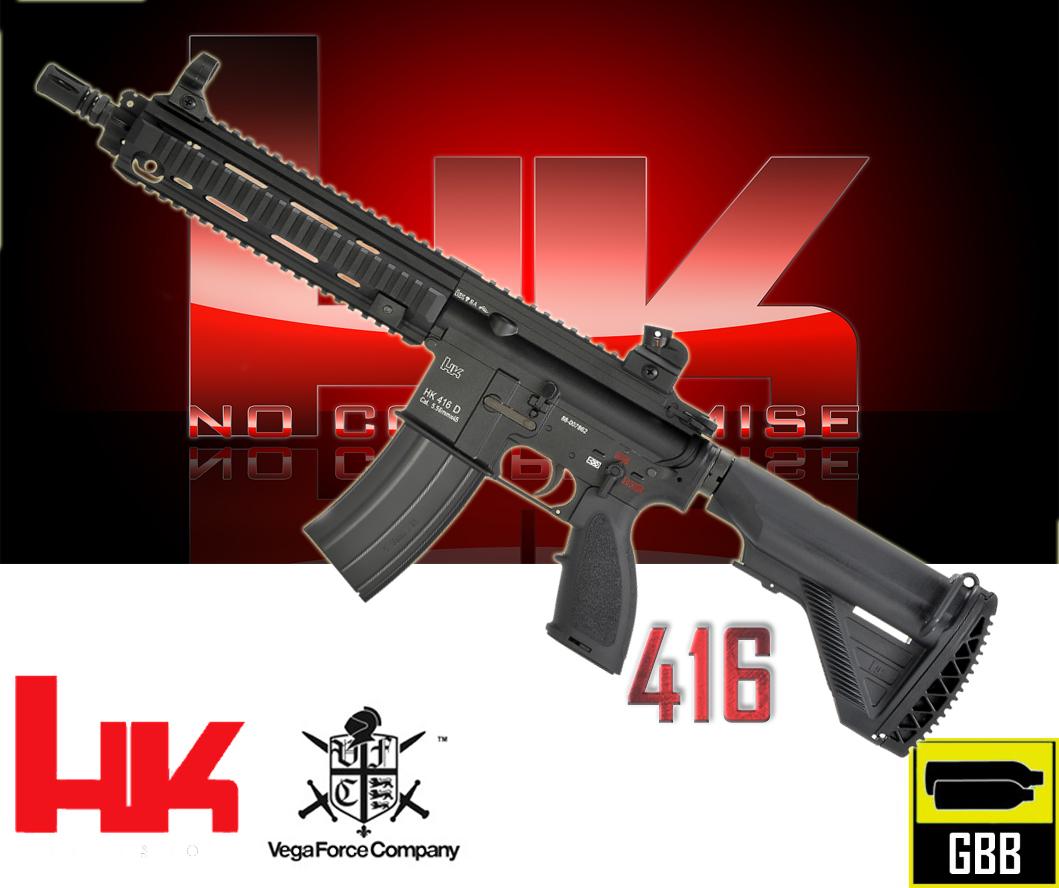 VFC / Umarex HK 416 V 2 GBB Airsoft Tüfek