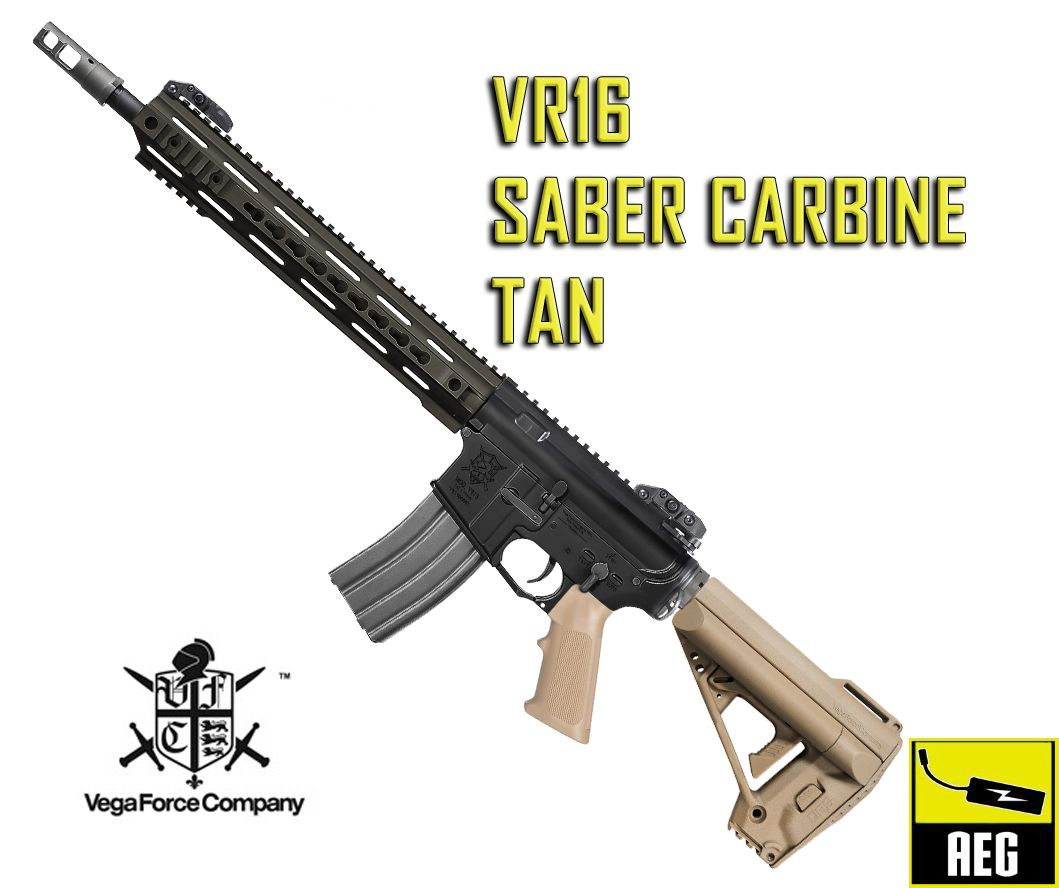 VR16 SABER CARBINE AEG (TAN)