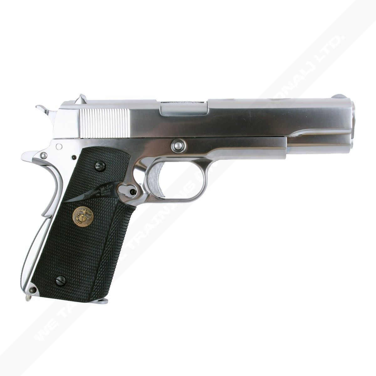 WE COLT 1911 A1 SILVER PRO GRIPS AIRSOFT TABANCA